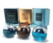 BVLGARI THE AQVA POCKET SPRAY COLLECTION 3*15 ml.